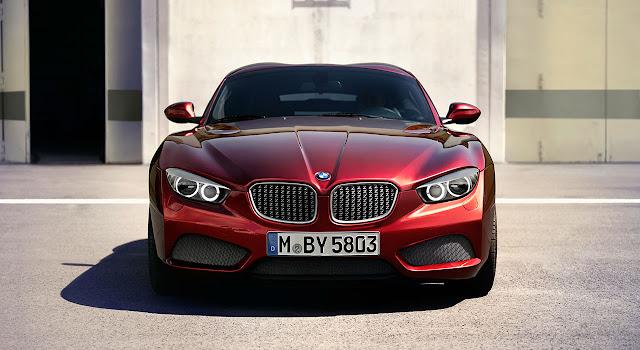 BMW Zagato Coupé front