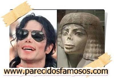 Michael Jackson con  momia