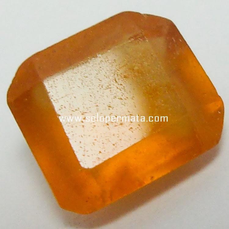 Batu Permata Hessonite garnet - 23A07