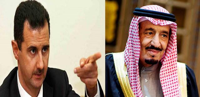 بشار الأسد يهاجم النظام السعودي