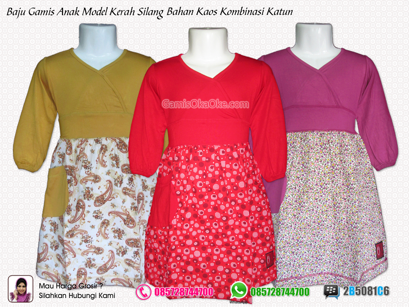 Pin Gamis Anak Unik Refanes Model Strawberry Busana