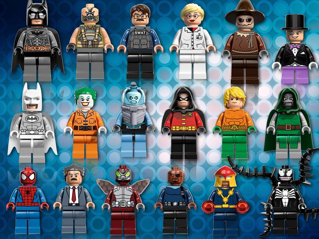 lego super heroes dc and marvel lego minifigures for 2013. Black Bedroom Furniture Sets. Home Design Ideas