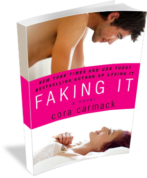 Book Cover: Faking It by Cora Carmack