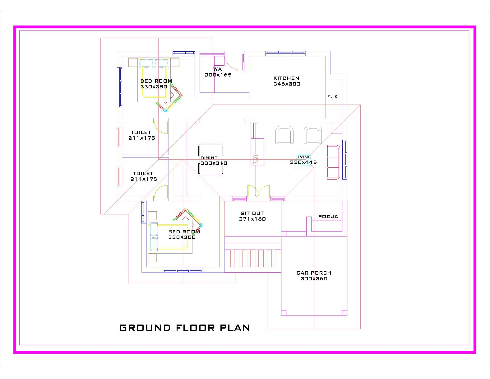 Veedu Dream Home House Plans Traditional Kerala Design