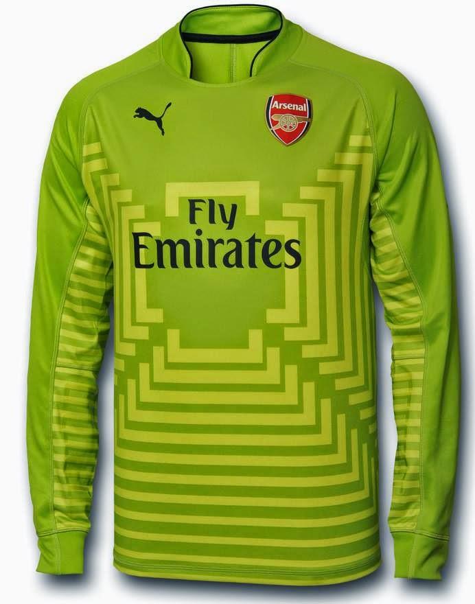 Jersey Arsenal Kiper