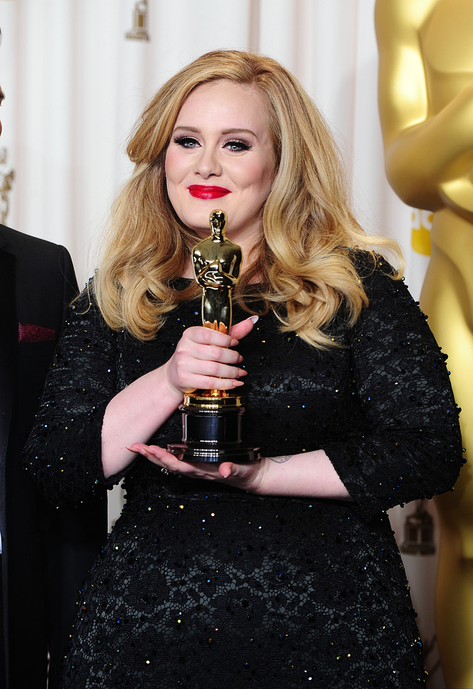 Adele adds Oscars to Golden Globe