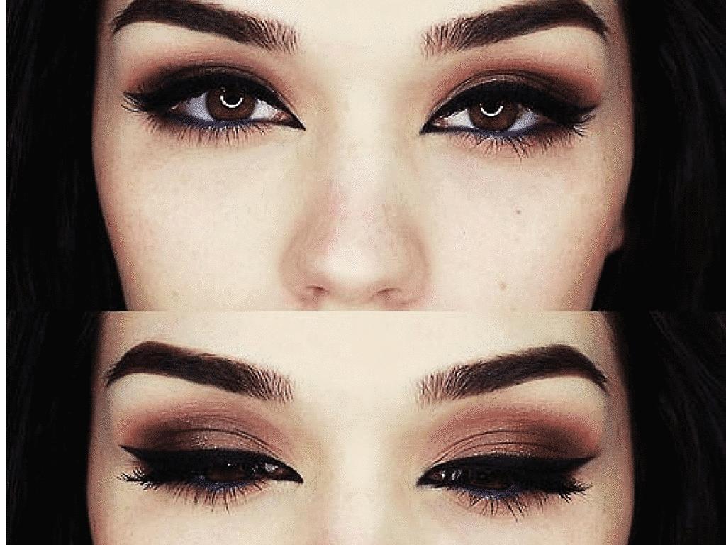 The makeup leader abril 2015 for Sombras de ojos para ojos marrones
