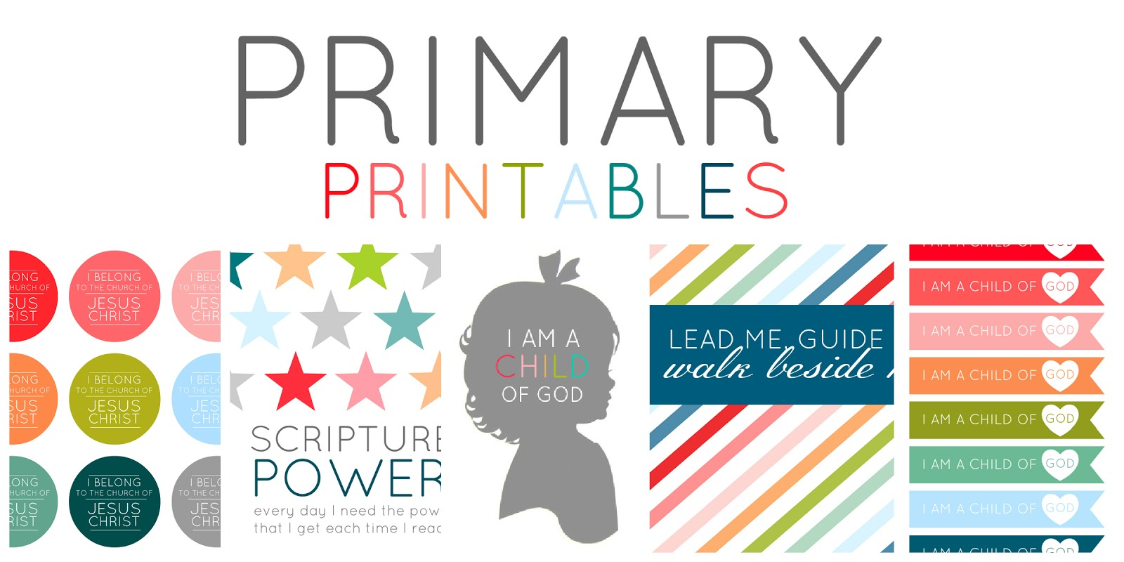 I Am A Child Of God Printables