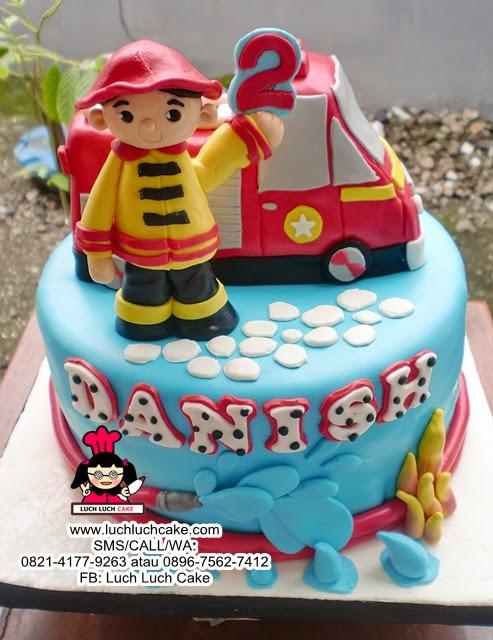Kue Tart Pemadam Kebaran Daerah Surabaya - Sidoarjo