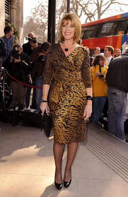 Ruth Langsford at the Tric Awards