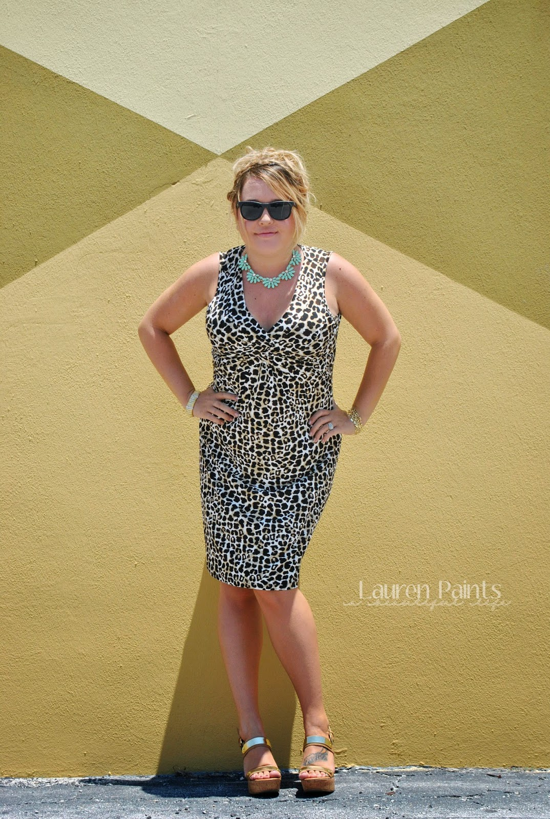 Trendy - One Dress, Styled 4 Ways {on a budget}