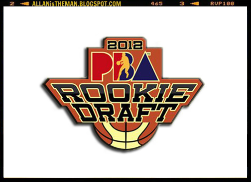 PBA Rookie Draft Pick 2012 Live Streaming