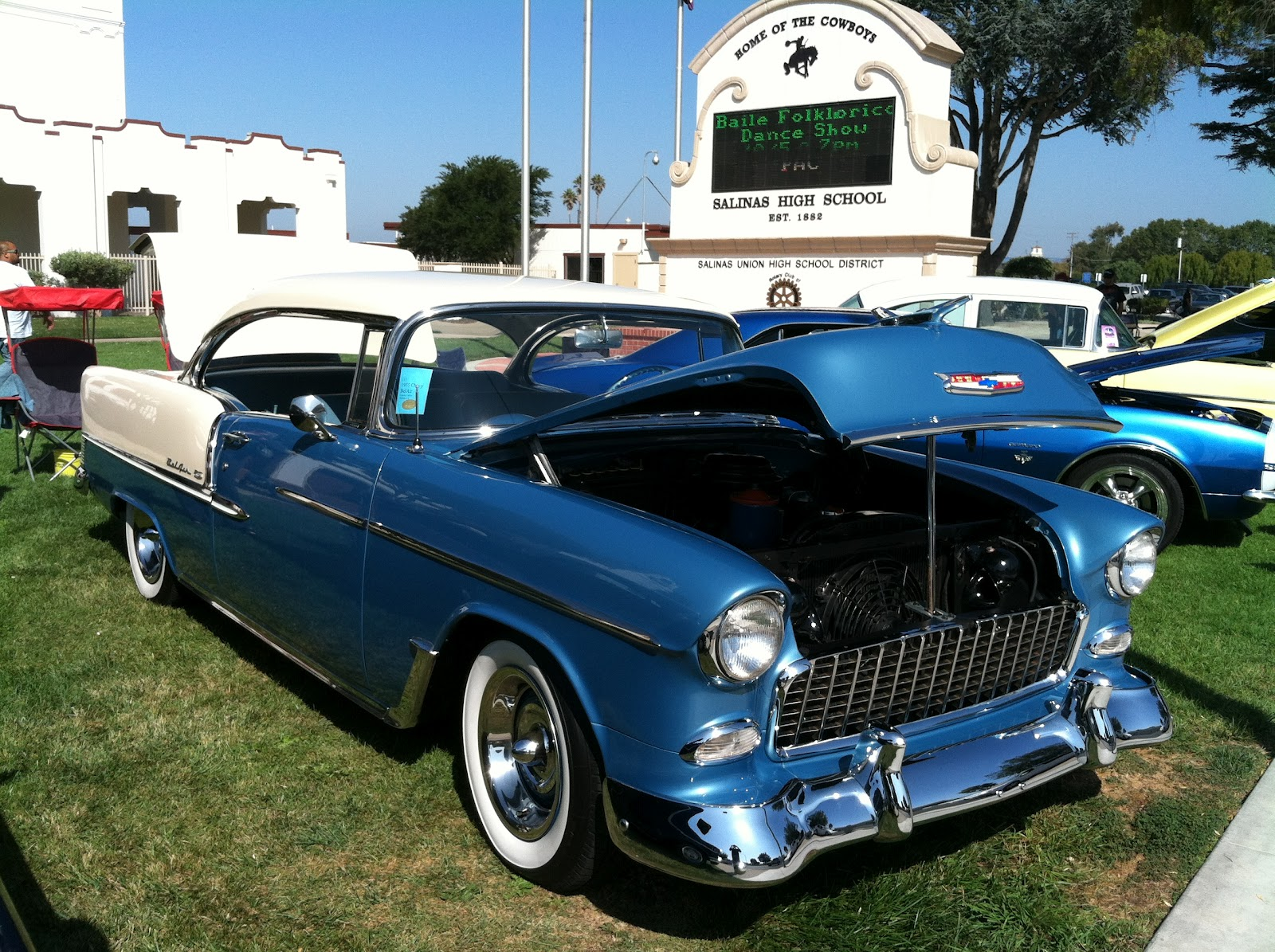 Show And Shine In Monterey Cherrys Jubilee Salinas Valley - Salinas car show