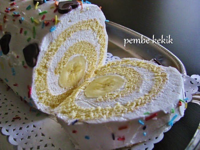 muzlu kremalı rulo pasta