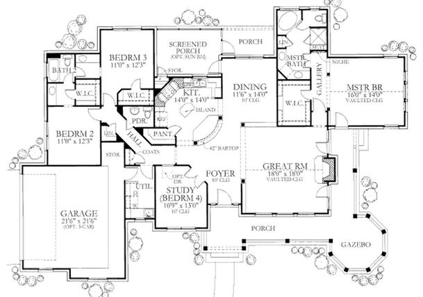 Planos de casas modelos y dise os de casas planos de for Modelos de casas de campo con piscina