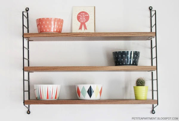 String pocket wall shelf retro mid century modern organic furniture ikea brakig colelction inspiration for home