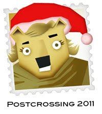Postcrossing 2011