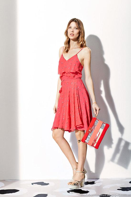 Vestidos primavera verano 2015. Vestidos de moda en la colección Vitamina verano 2015.