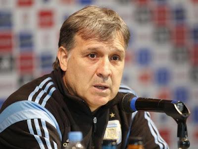 gerardo martino - seleccion argentina de futbol