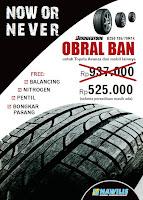 Obral Ban Bridgestone