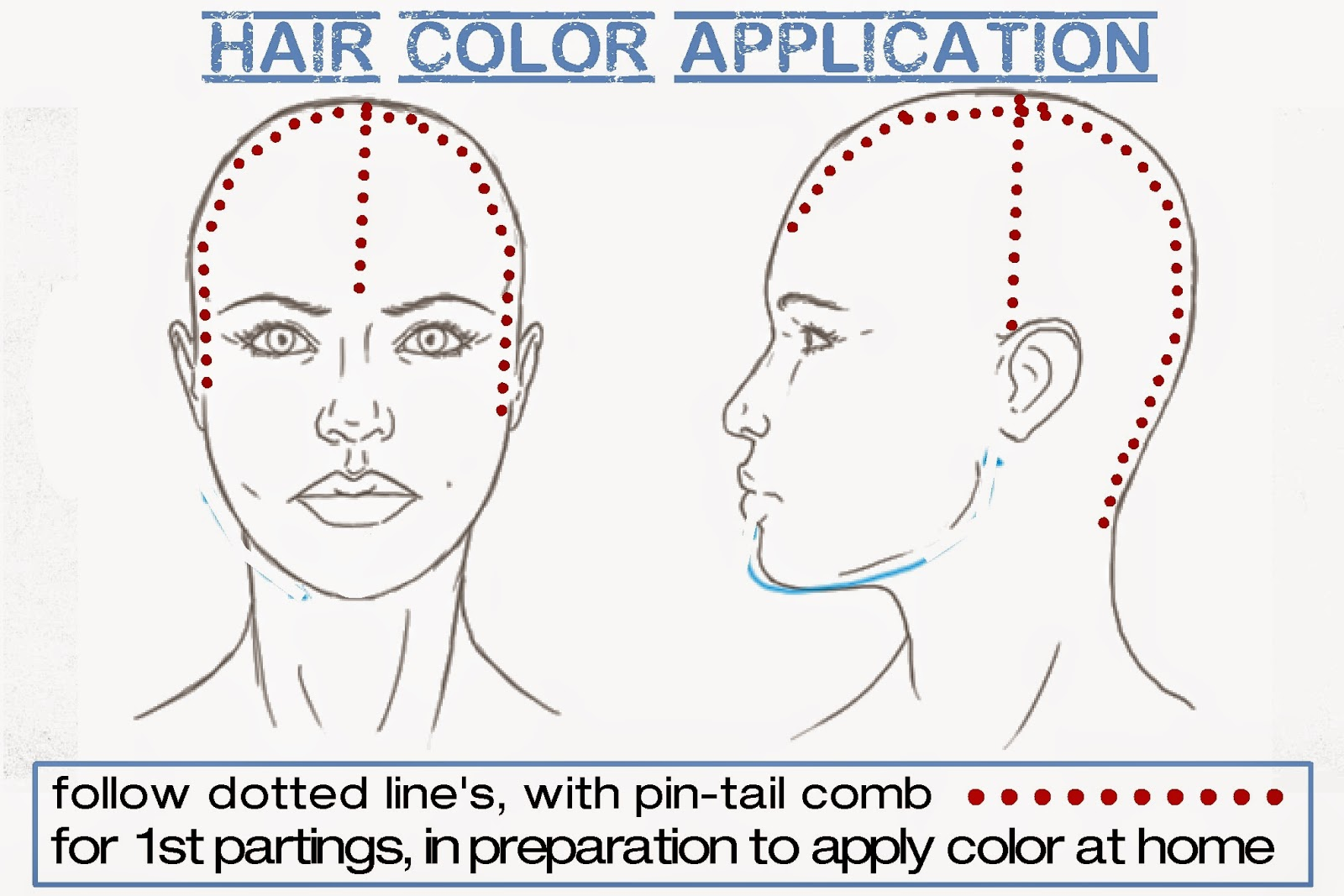 How To Begin Sectioning Hair To Apply Haircolor To Oneself