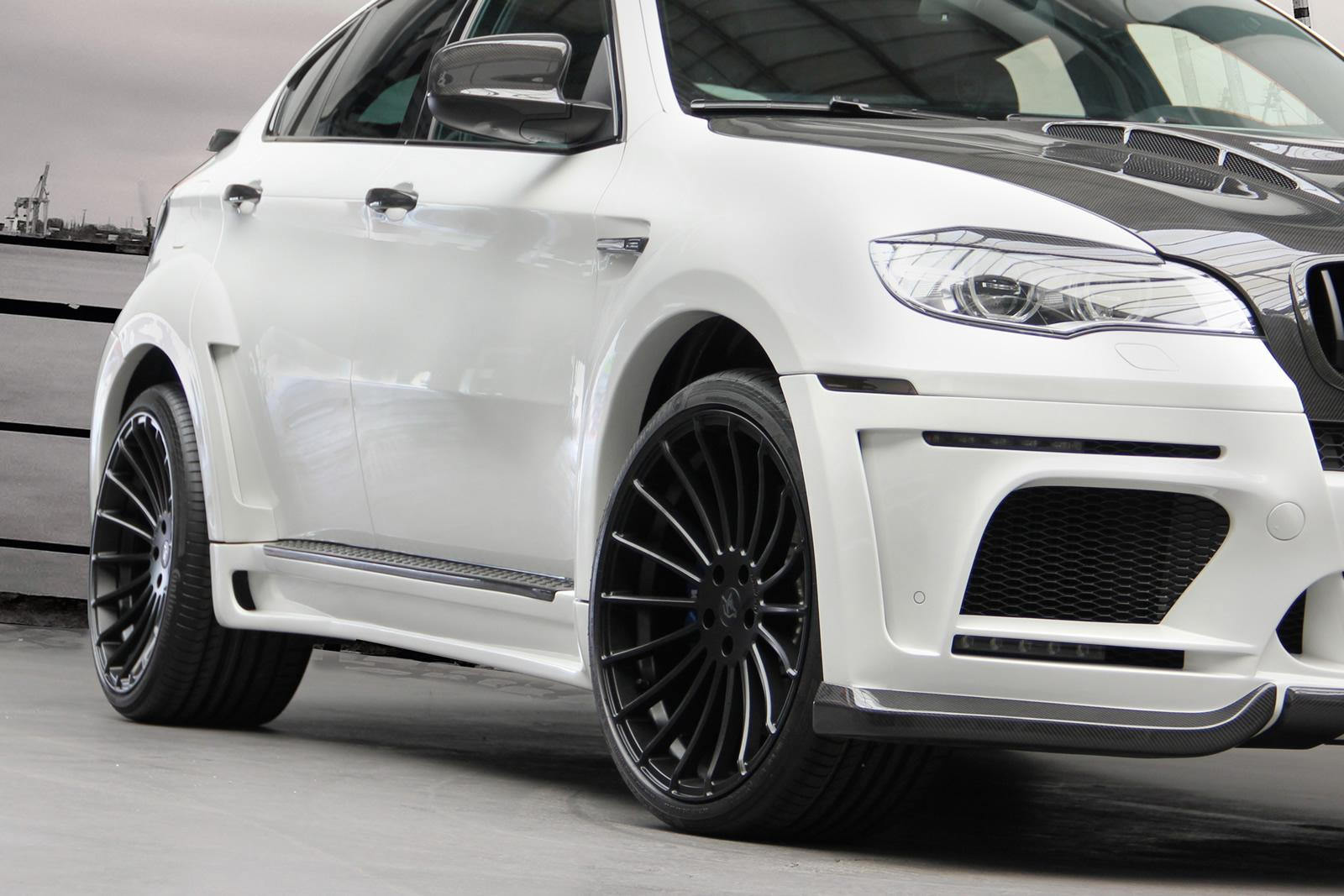 Oh No Look What They Dd To A Bmw X6m Carscoops