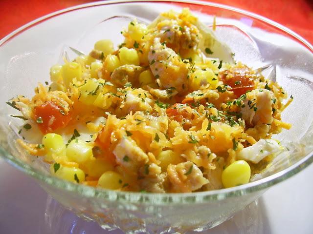 Salata de pui cu porumb