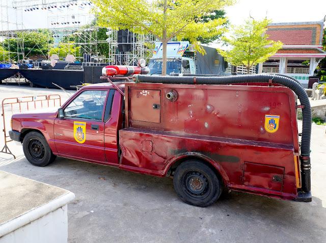 Fireman Truck in Thailand