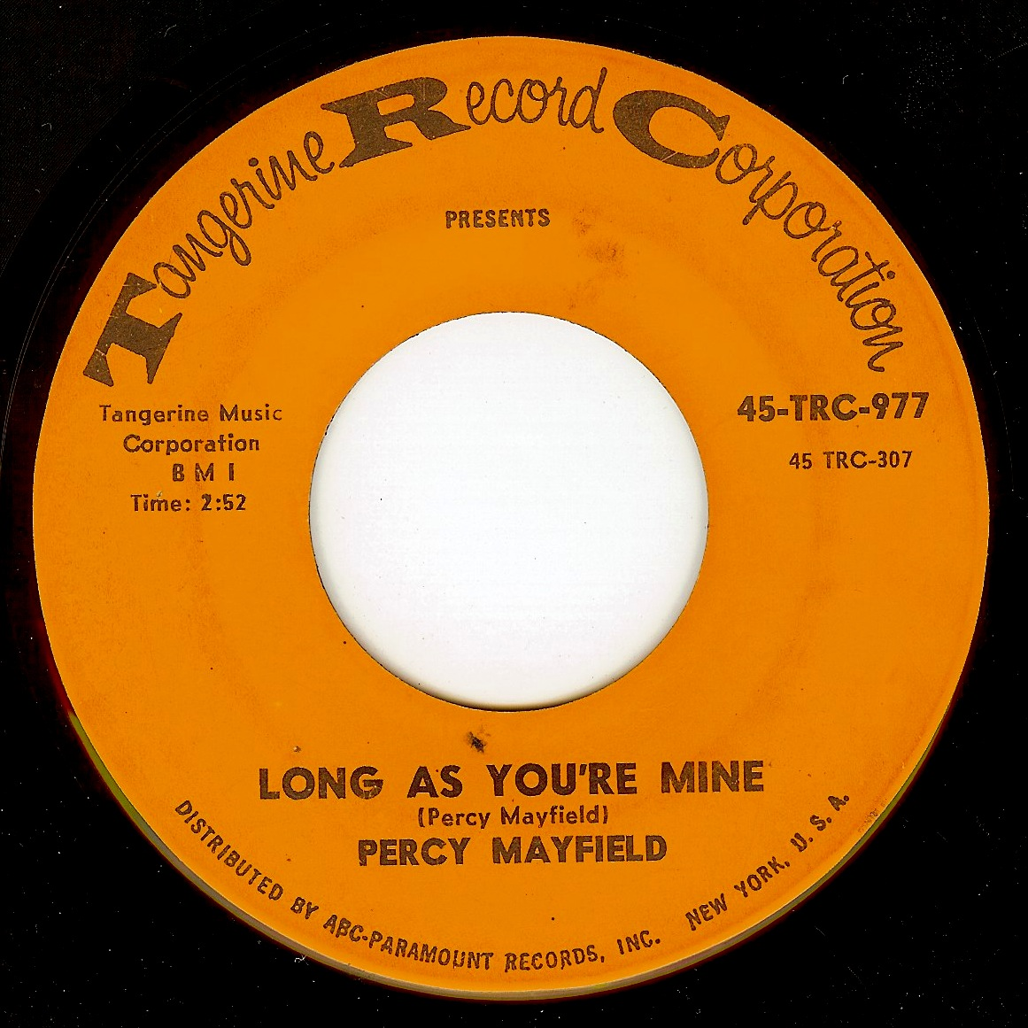 Percy mayfield long as you re mine