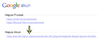 link close google account