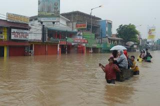 Foto Banjir Jakarta
