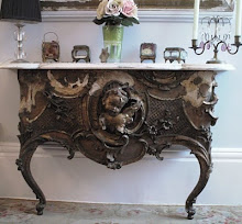 Giltwood Console table....