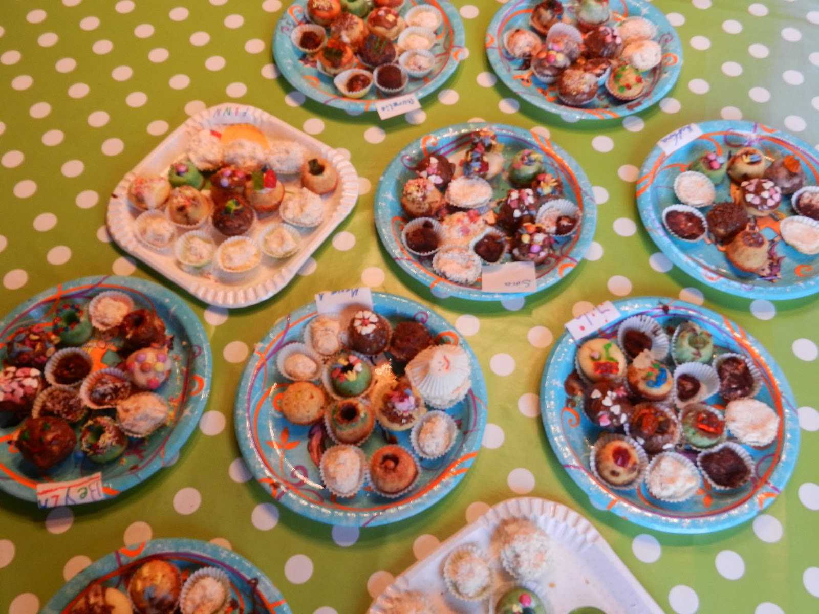 fanny 39 s bandennotizen mini muffin party viel spa am kindergeburtstag. Black Bedroom Furniture Sets. Home Design Ideas
