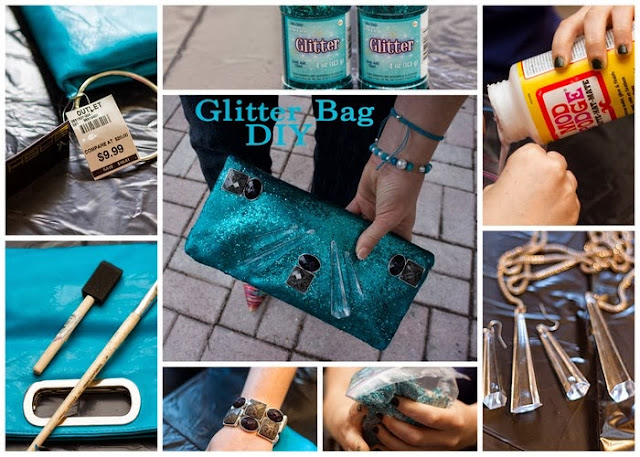 DIY Glitter Bag