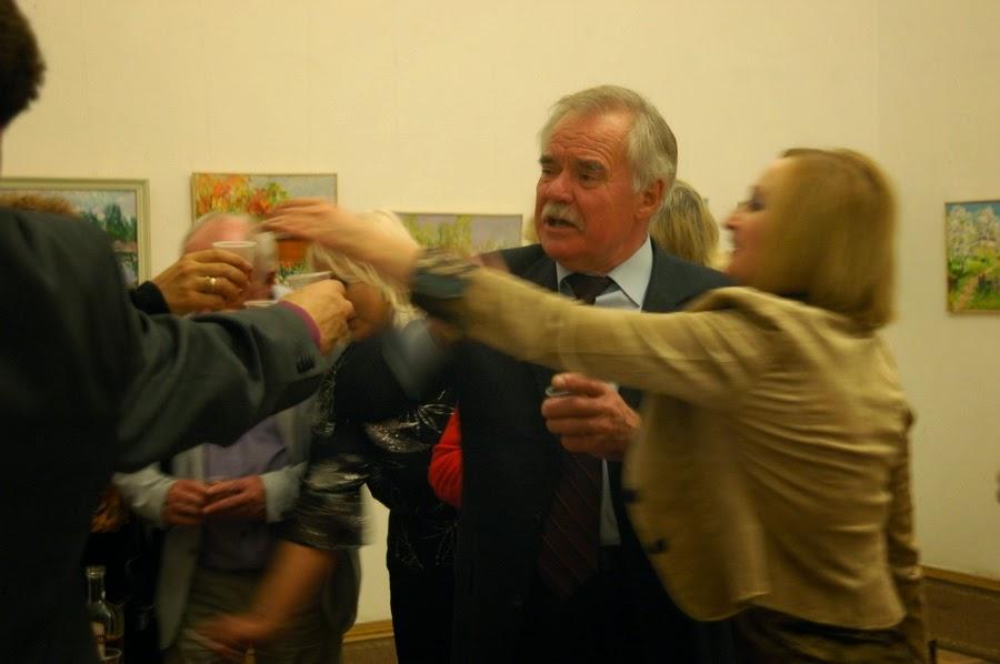 тост за здоровье Михаила Шевченко
