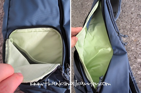 crossbody bag pockets