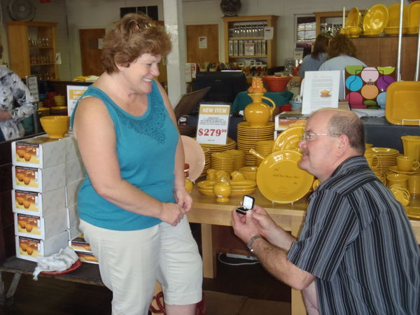 DISHing with HLCCA: Love Among the Dishes