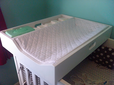 Jenny Free Style Our Changing Station Crib Topper