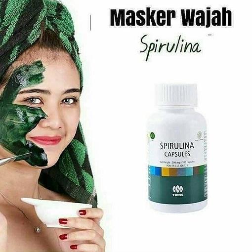 Produk Masker Spirulina