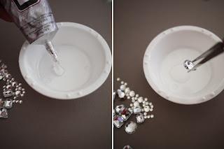 Reciclatex Cómo decorar tus zapatos con brillantes