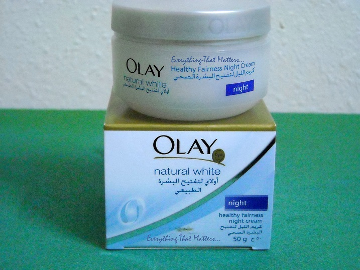 Olay Natural White Healthy Fairness Day And Night Cream