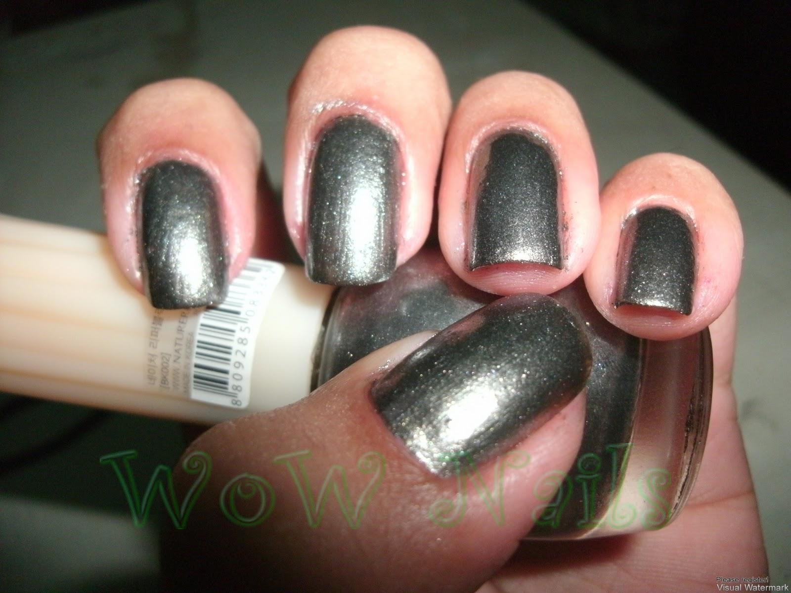 WoW Nails: NOTD: Nature Republic Color Waltz BK002
