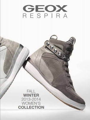 catalogo de zapatos geox OI 2013-14
