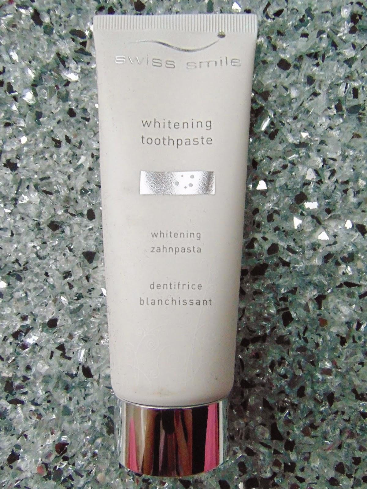 Swiss Smile Whitening Zahnpasta - www.annitschkasblog.de