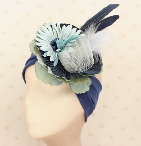 Colección Buceando - Banda elastica ancha Bouquet