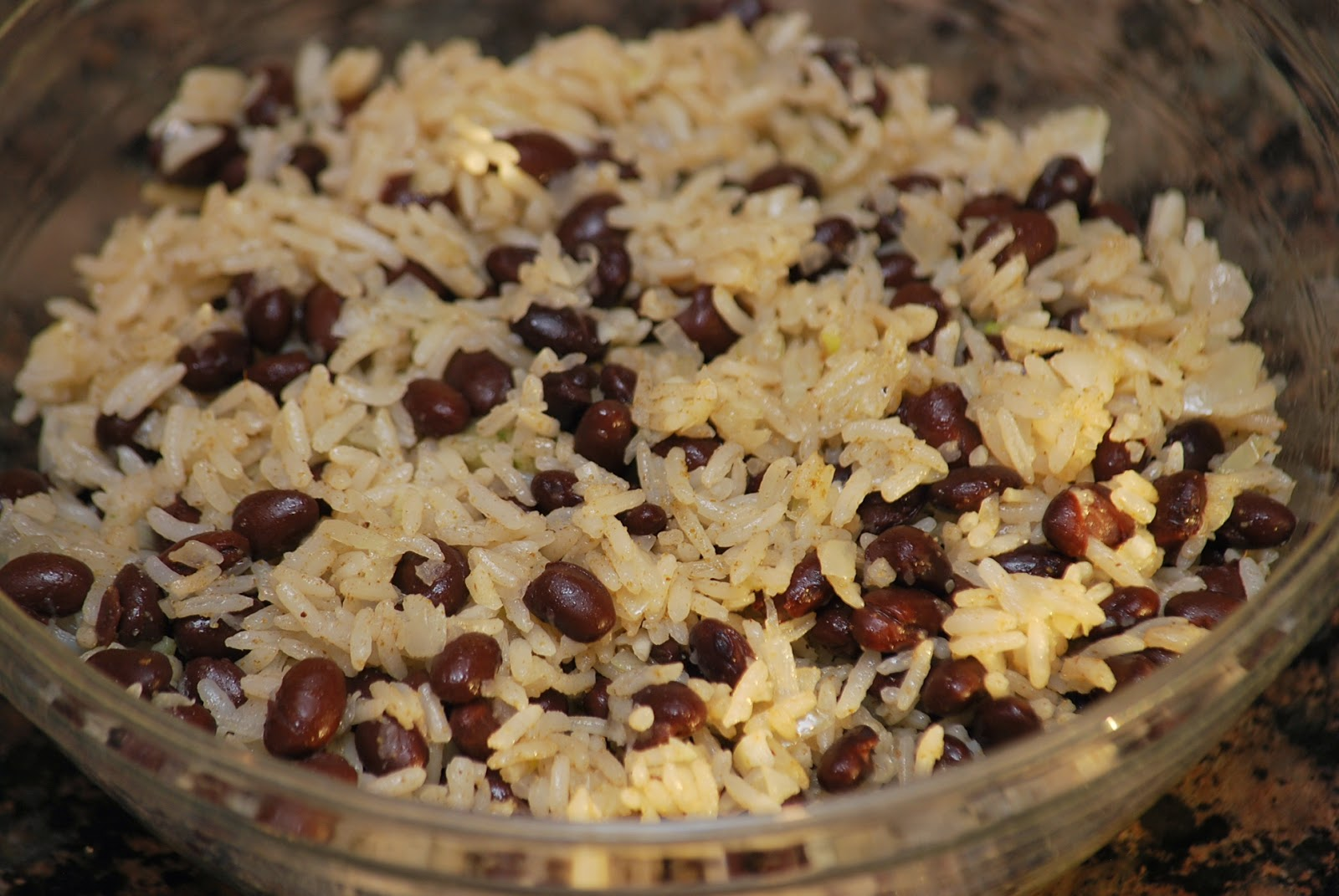 My story in recipes: Black Beans and Rice
