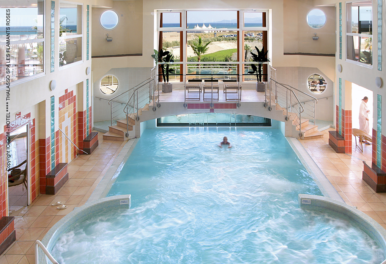 Grand h tel thalasso spa les flamants for Hotel touquet avec piscine