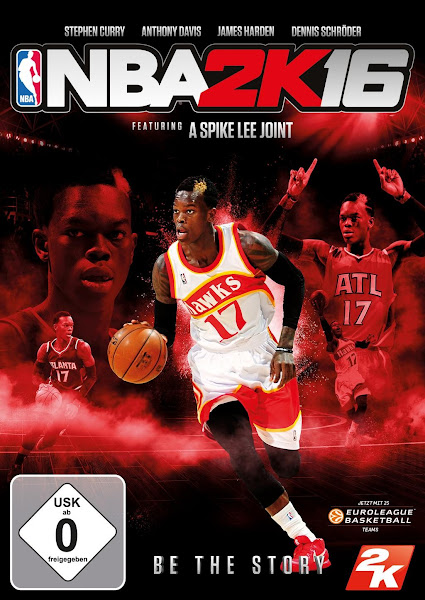 NBA 2K16 Dennis Schroder German Cover