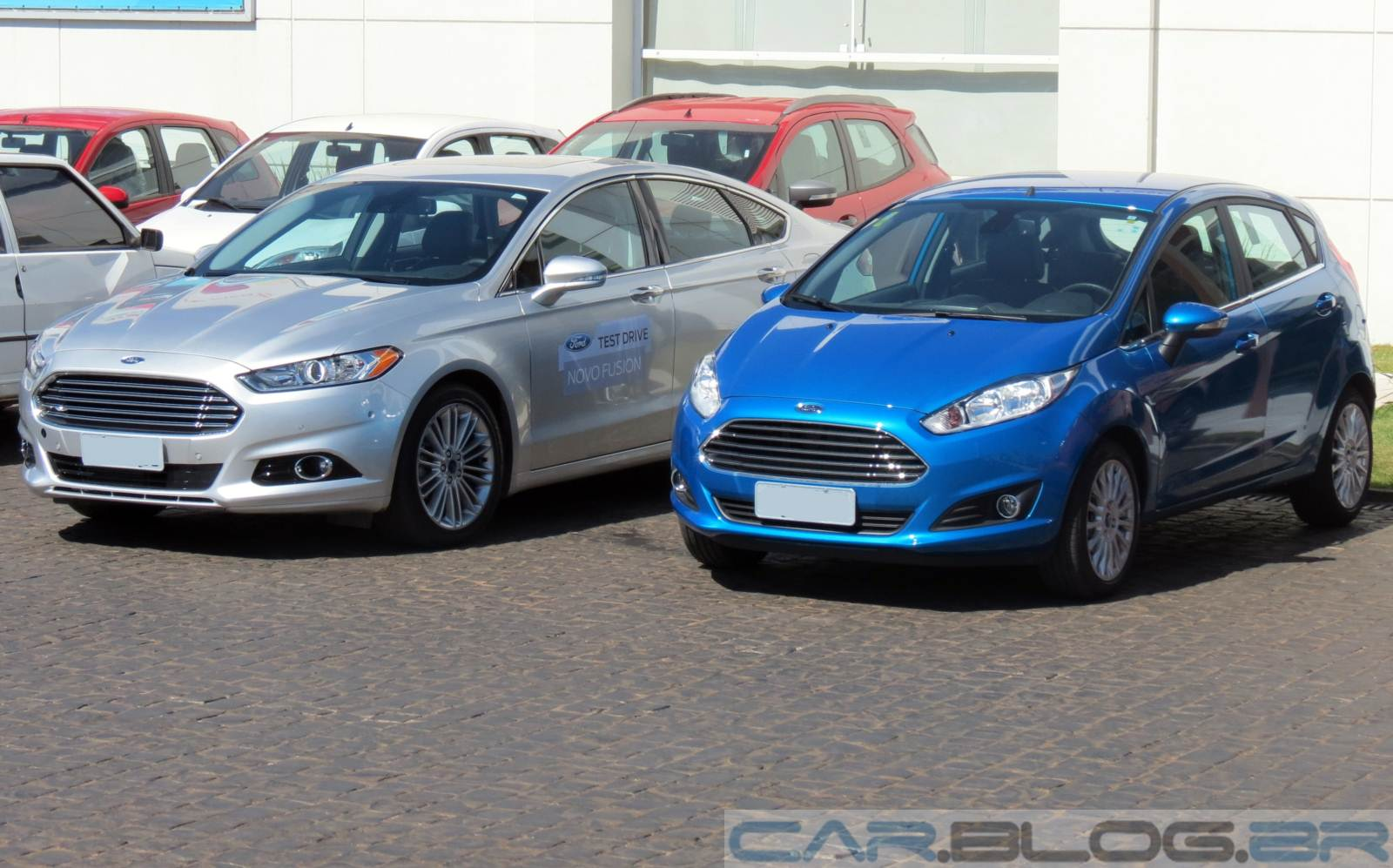 Novo New Fiesta 2015 - central multimídia
