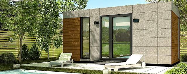 Módulo para jardín - Despacho 18 Exterior - Resan Modular